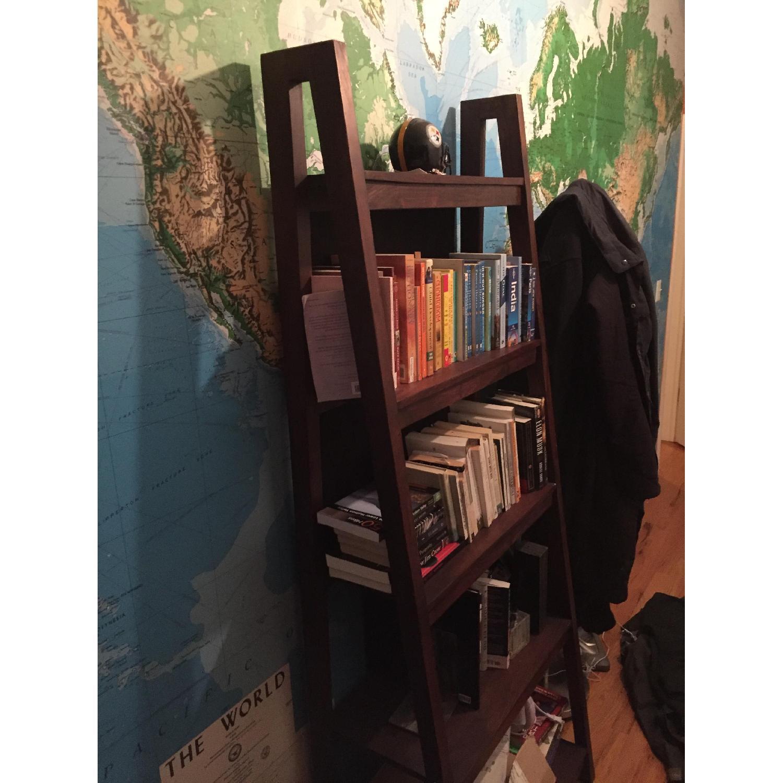 Crate & Barrel Strut Sheesham Bookcase - image-4