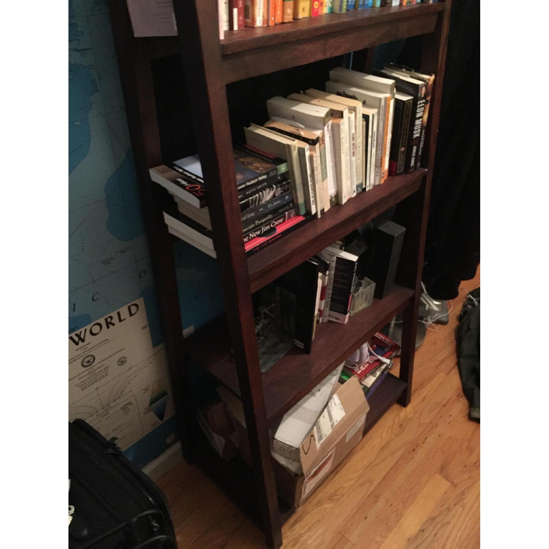 Crate & Barrel Strut Sheesham Bookcase - image-5