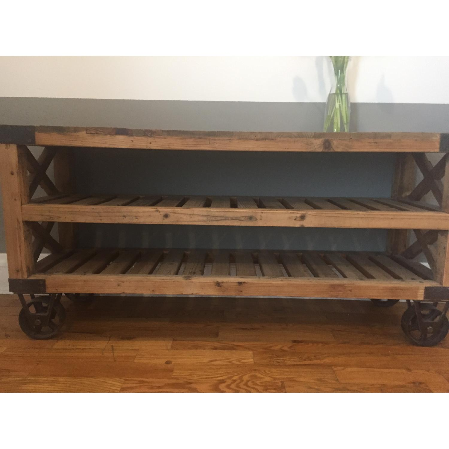 Industrial Style Rolling Shelves - image-2