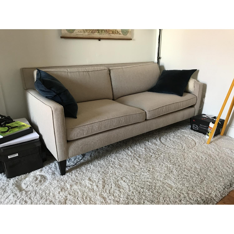 Crate & Barrel Rochelle Apartment Sofa - image-3