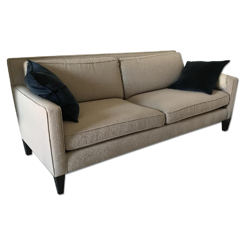 Crate & Barrel Rochelle Apartment Sofa - image-0