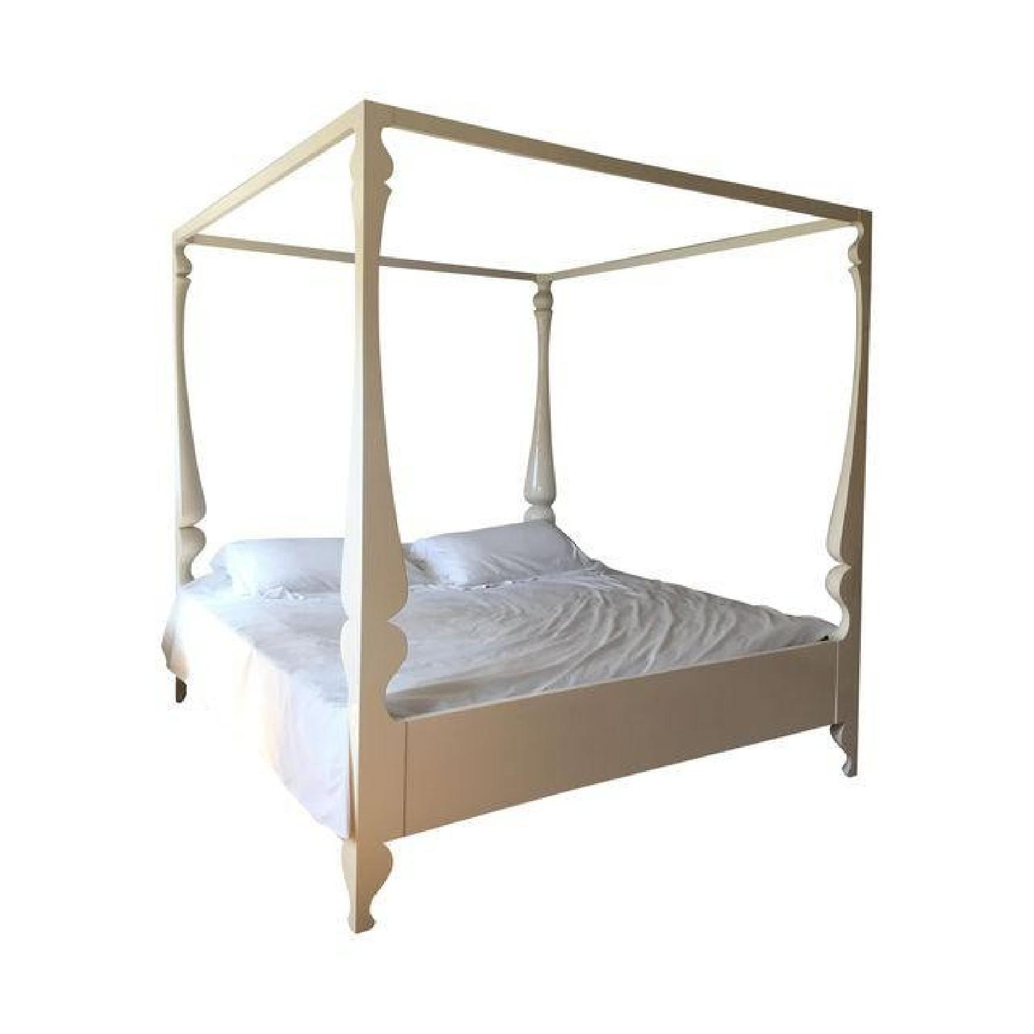 ABC Carpet and Home Louis Four Poster King Bed - image-0