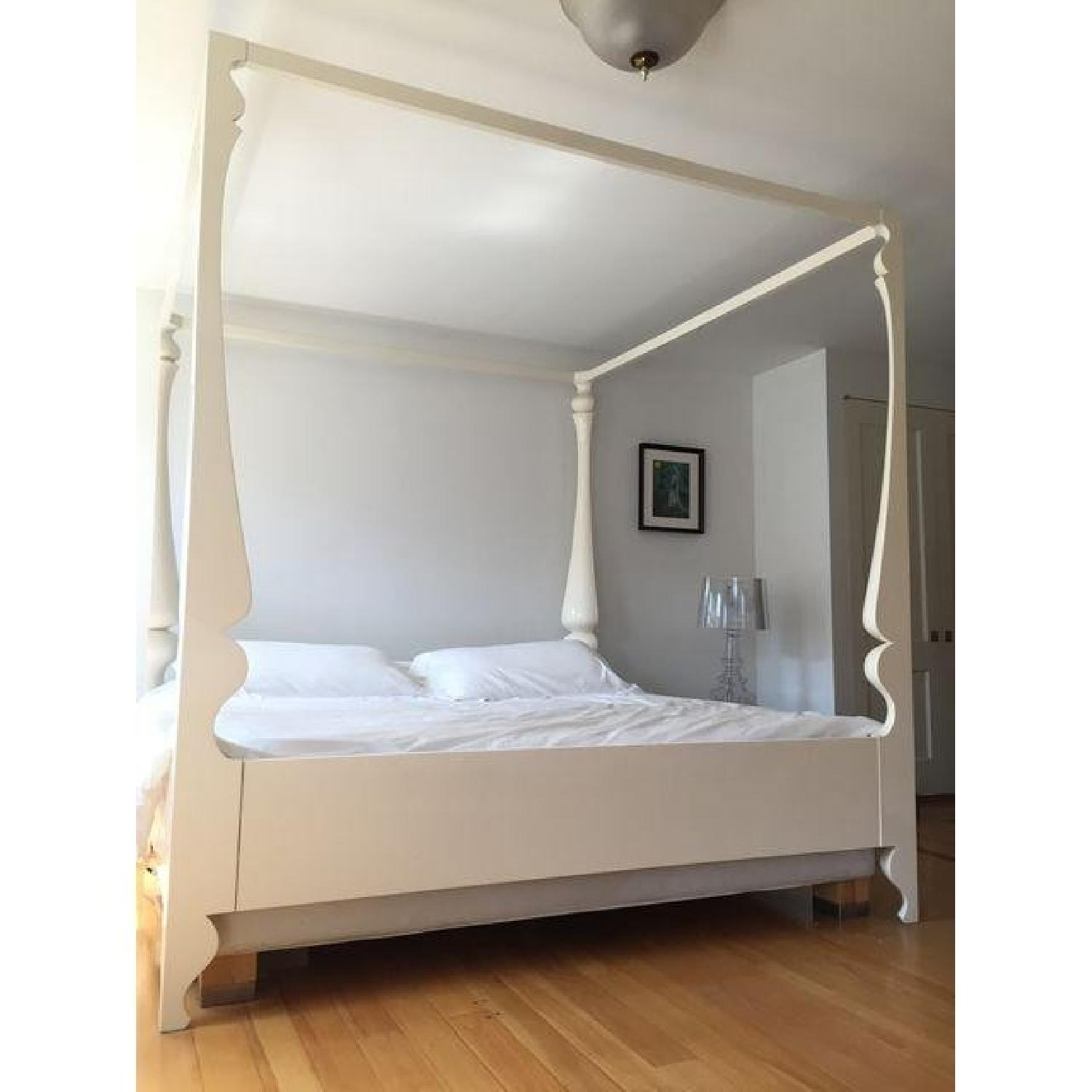 ABC Carpet and Home Louis Four Poster King Bed - image-6