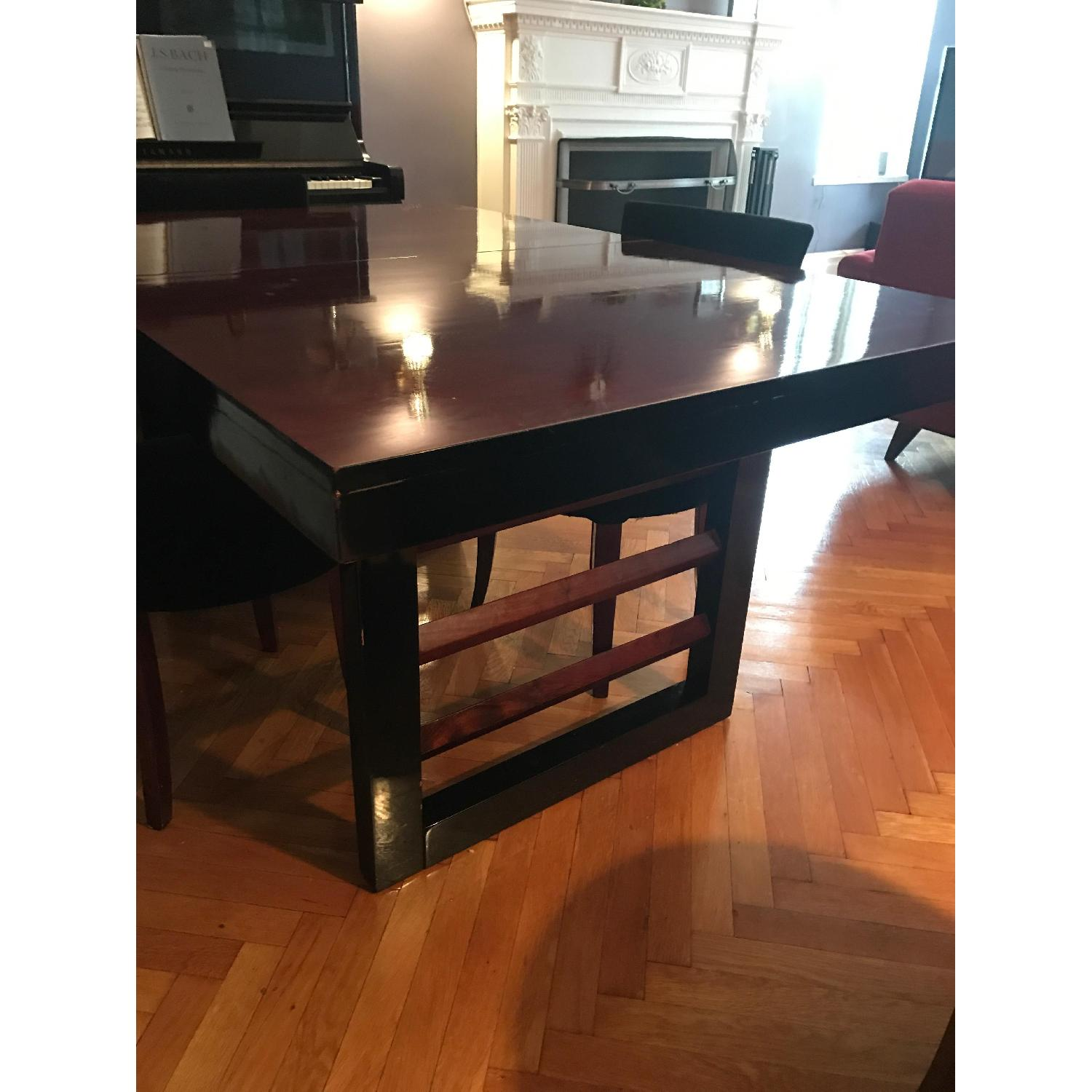 Depression Modern Extendable Dining Table w/ 4 Chairs - image-2