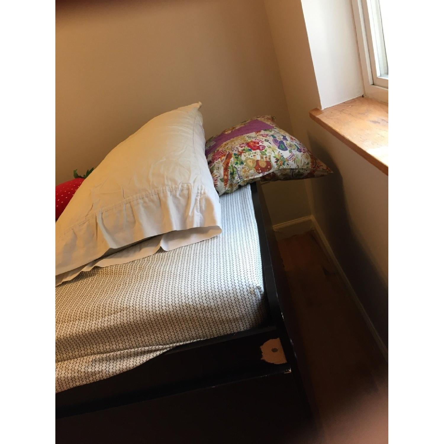 Captain's Twin Size Bed Frame - image-2