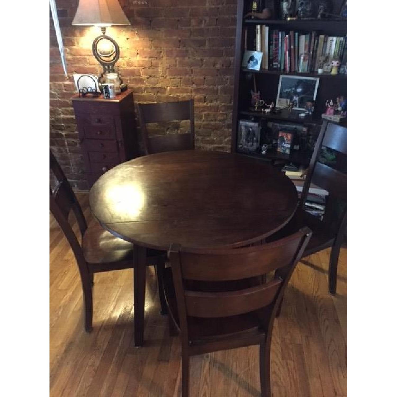 Bob's Blake Drop Leaf 5 Piece Dining Room Set - image-1