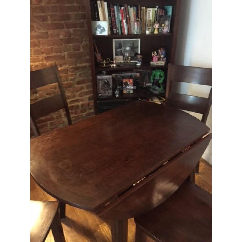 Bob's Blake Drop Leaf 5 Piece Dining Room Set - image-5