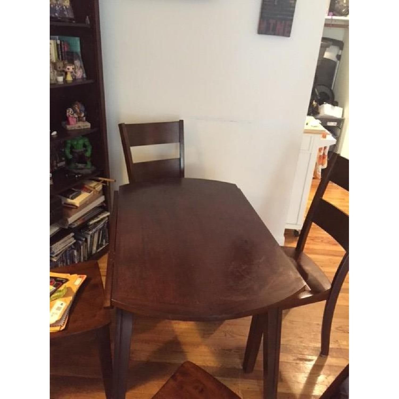 Bob's Blake Drop Leaf 5 Piece Dining Room Set - image-6