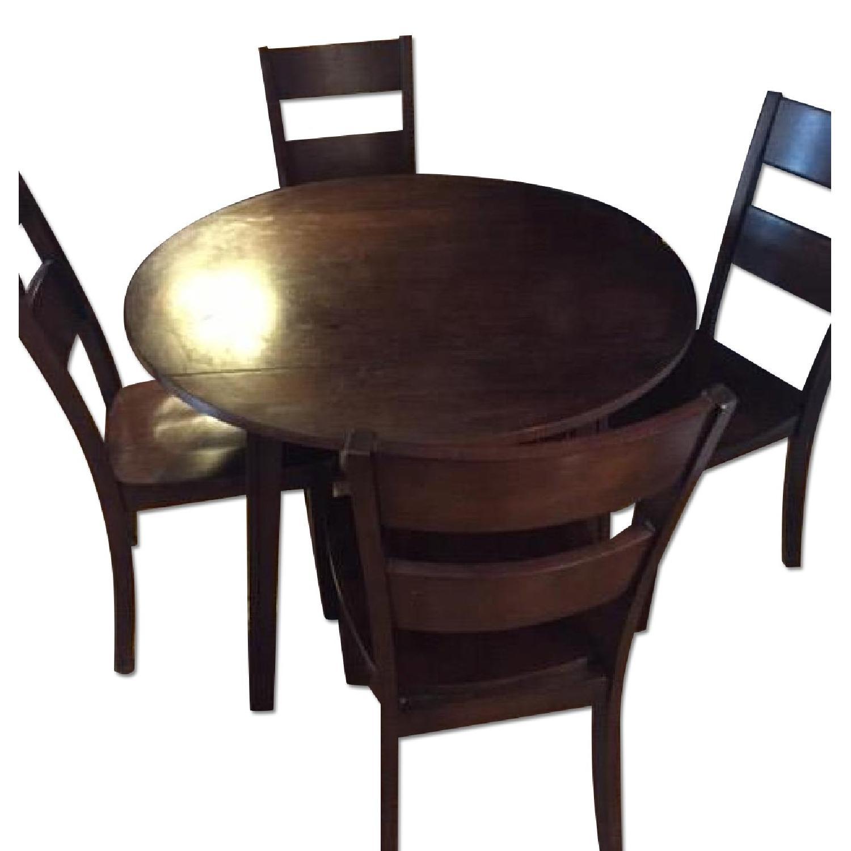 Bob's Blake Drop Leaf 5 Piece Dining Room Set - image-0
