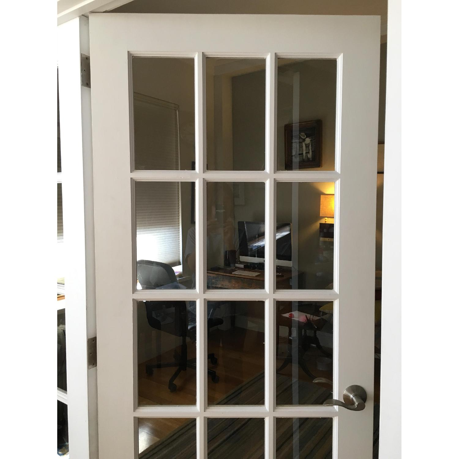 French Door 4 Panel Room Divider - image-4