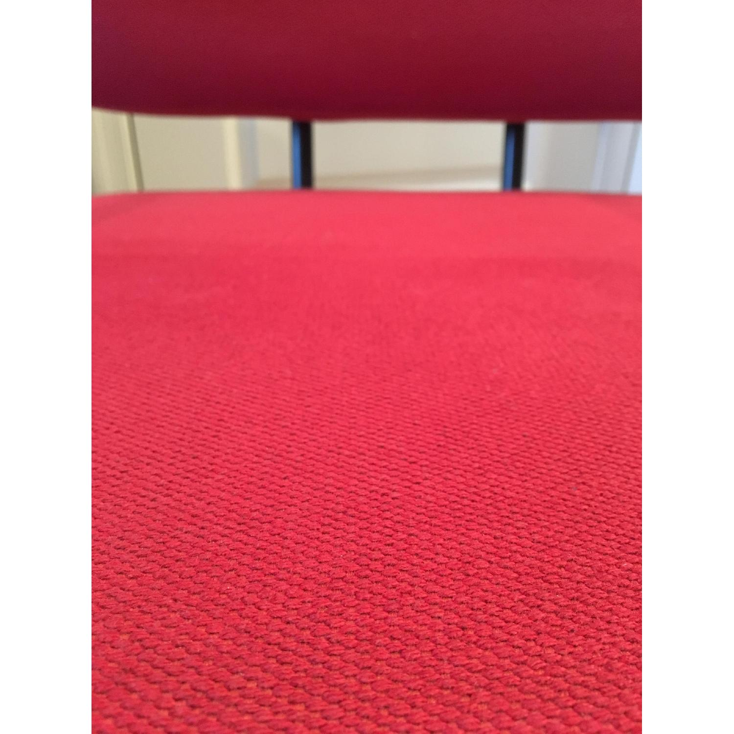 Red Upholstery Accent Chair - image-5