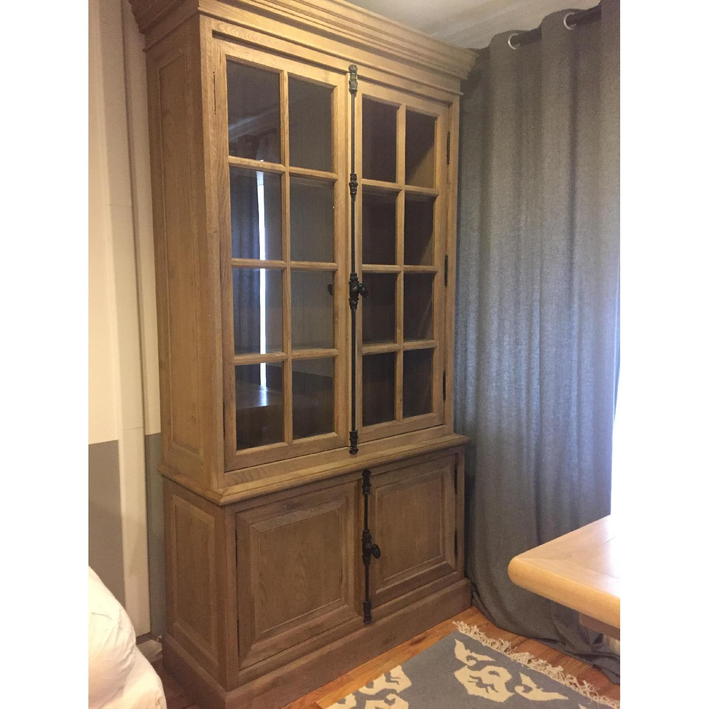 Restoration Hardware French Casement Double-Door Sideboard & Hutch - image-1