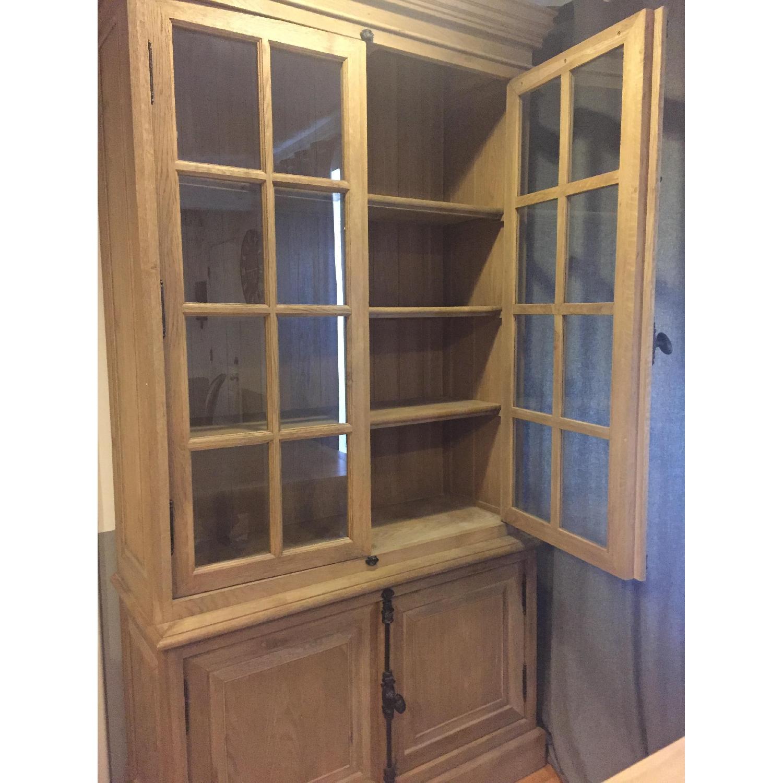 Restoration Hardware French Casement Double-Door Sideboard & Hutch - image-2