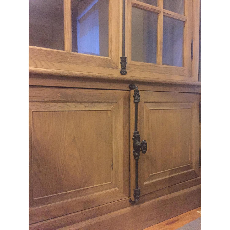 Restoration Hardware French Casement Double-Door Sideboard & Hutch - image-4