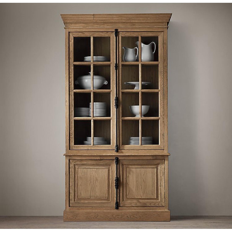 Restoration Hardware French Casement Double-Door Sideboard & Hutch - image-5
