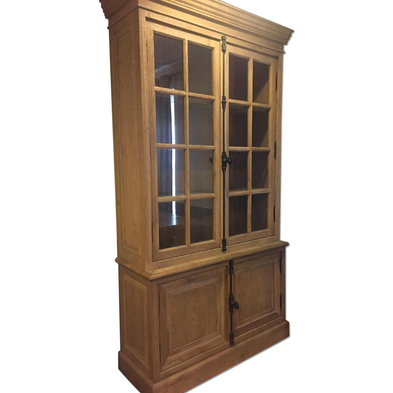 Restoration Hardware French Casement Double-Door Sideboard & Hutch - image-0