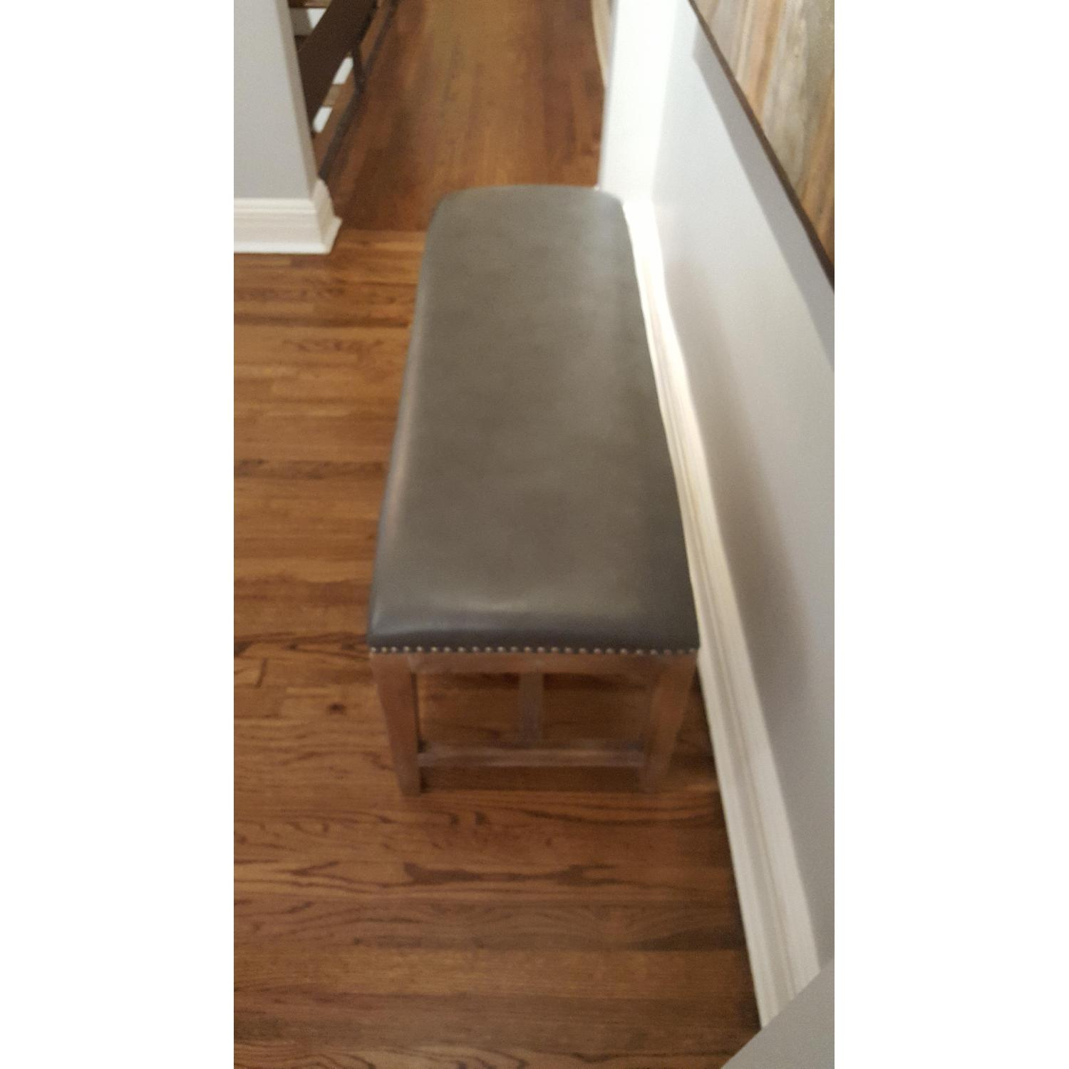 Leather Bench - image-2