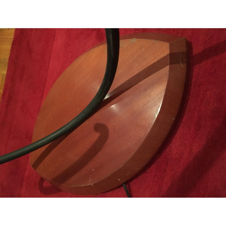Solid Maple Base/Iron Cast Floor Lamp - image-3