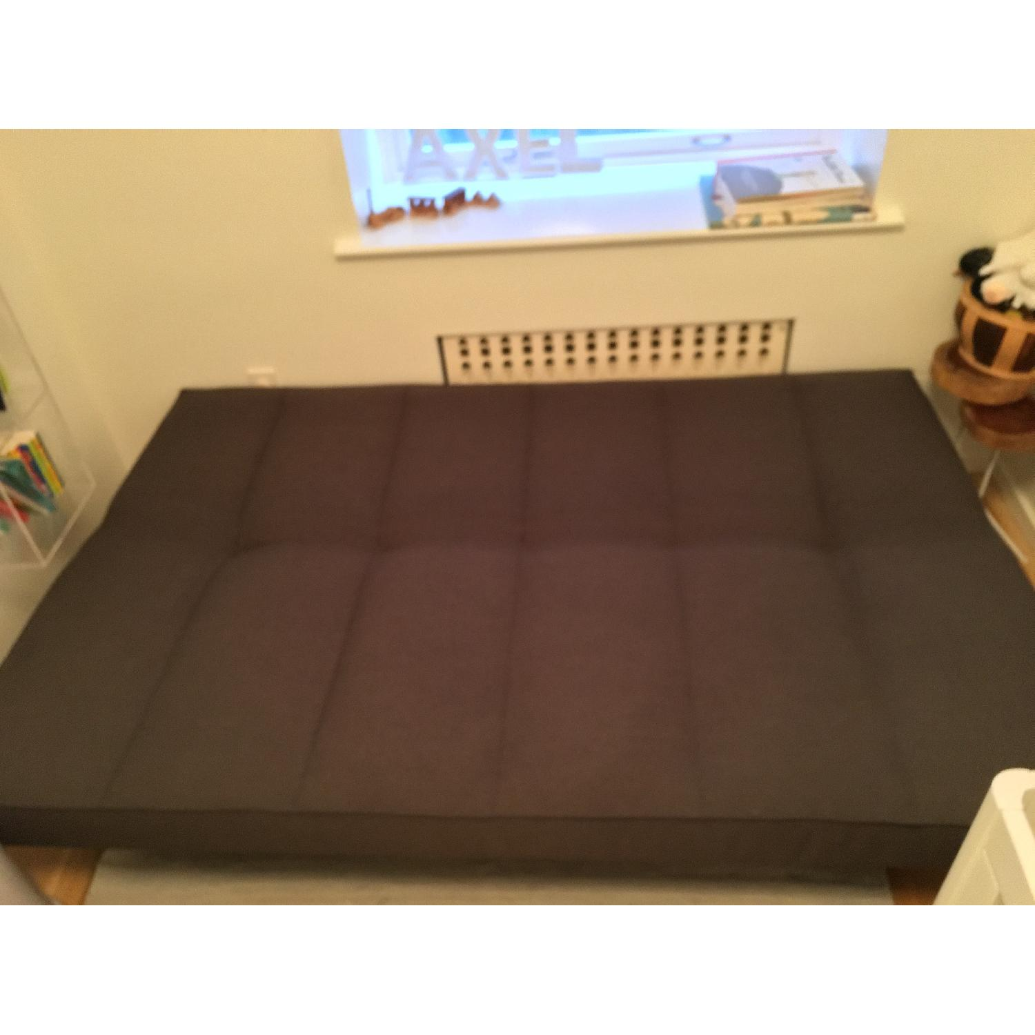 CB2 Flex Gravel Sleeper Sofa - image-1