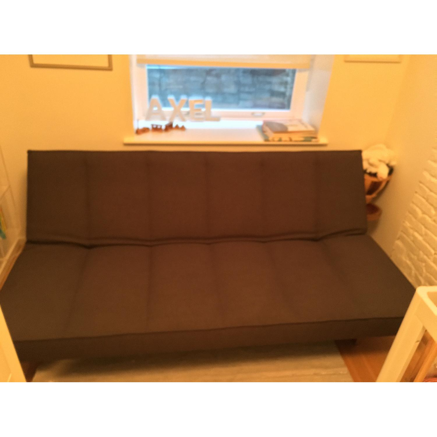 CB2 Flex Gravel Sleeper Sofa - image-3