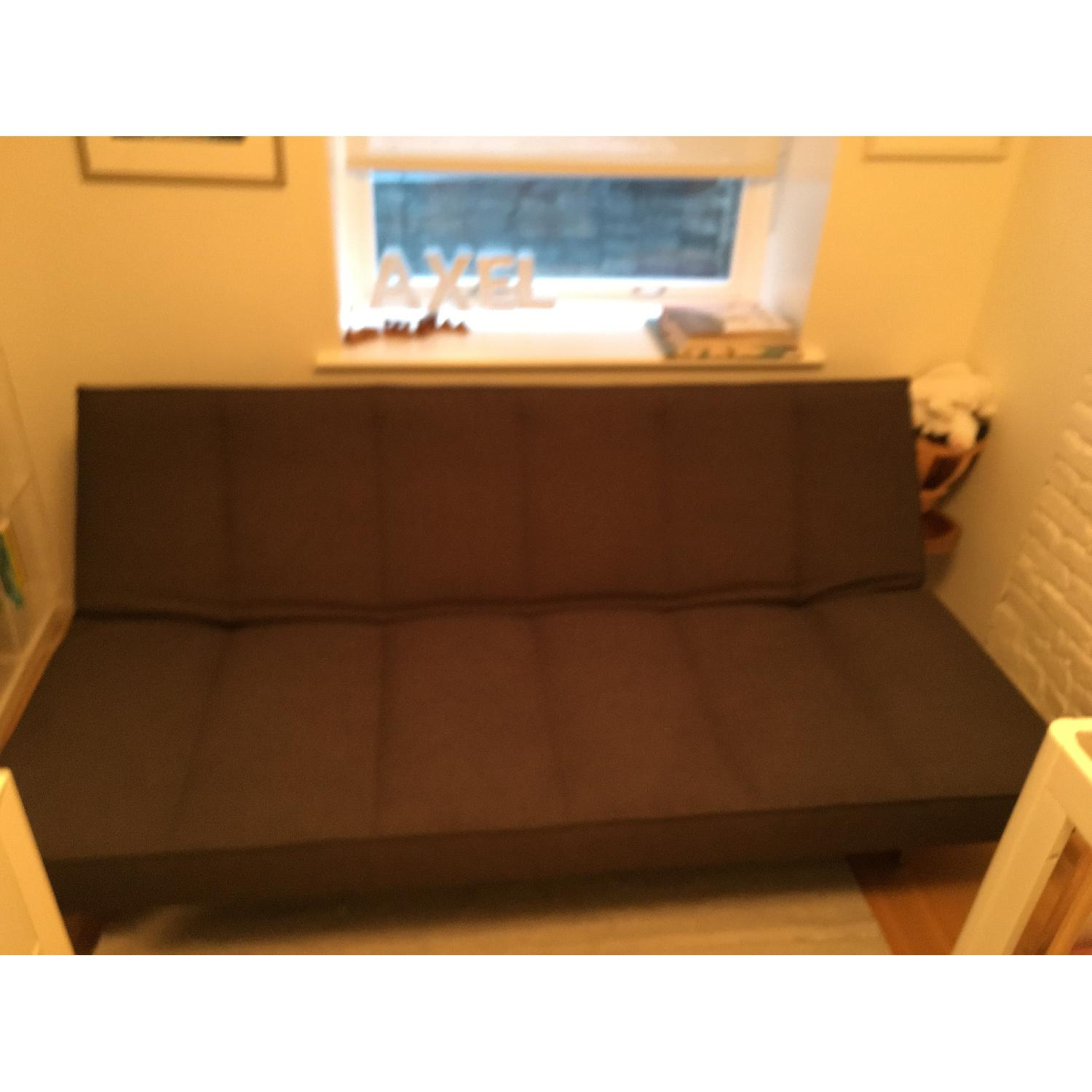 CB2 Flex Gravel Sleeper Sofa - image-4