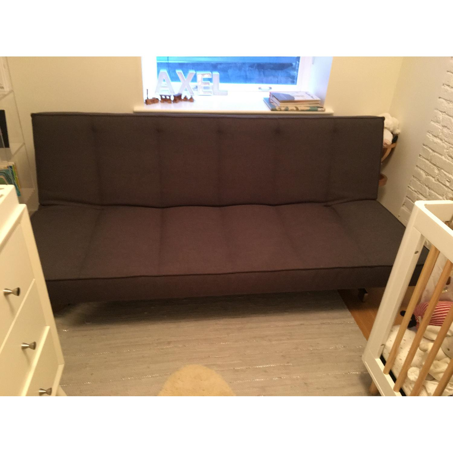 CB2 Flex Gravel Sleeper Sofa - image-8