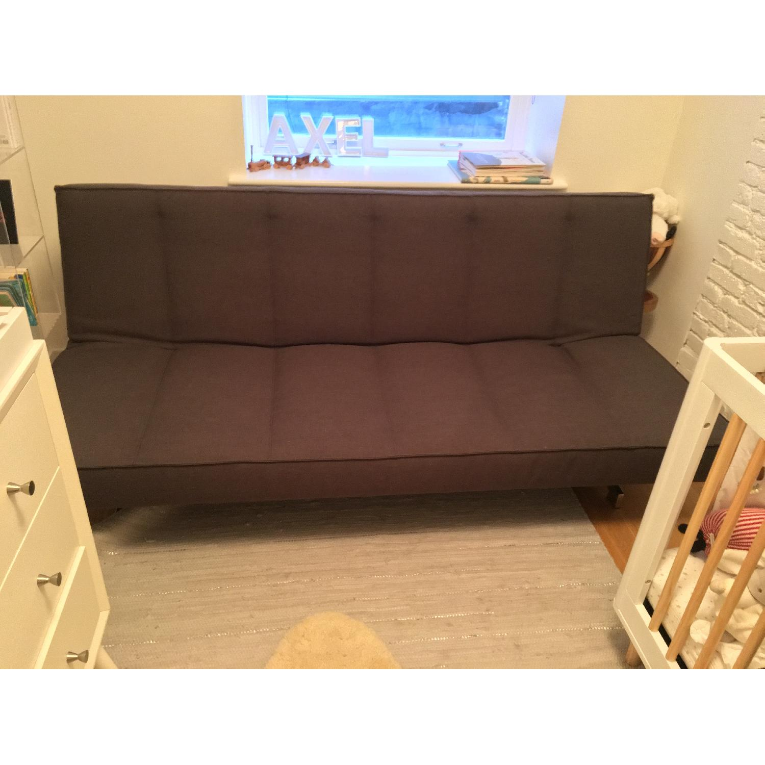 CB2 Flex Gravel Sleeper Sofa - image-9