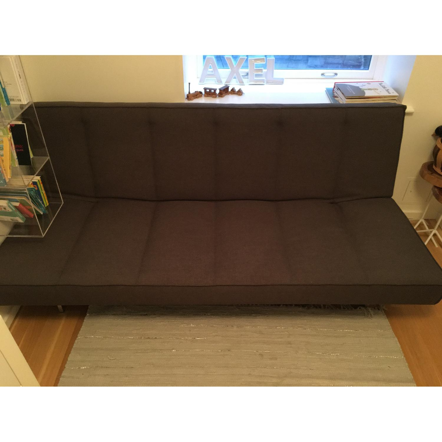 CB2 Flex Gravel Sleeper Sofa - image-16