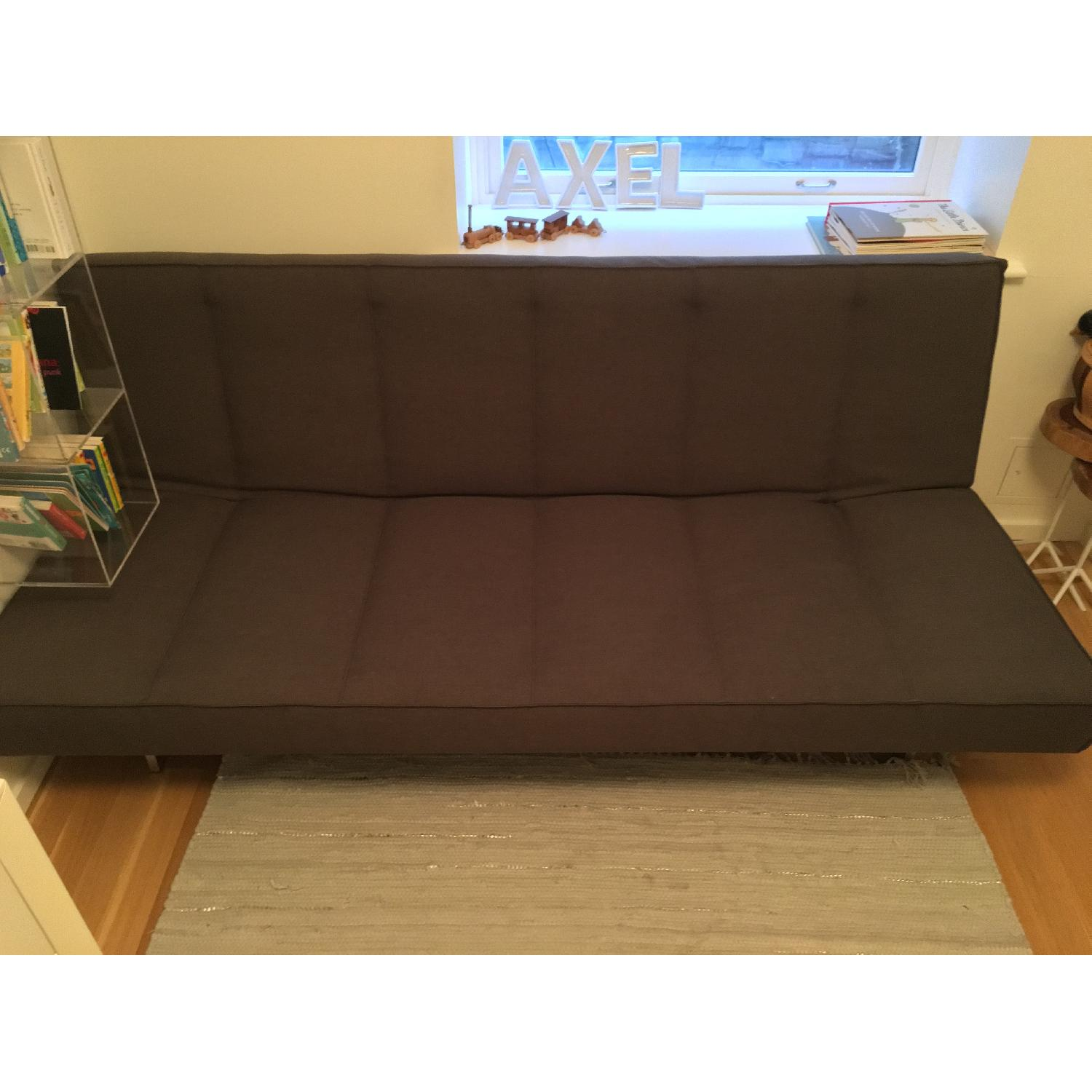 CB2 Flex Gravel Sleeper Sofa - image-17