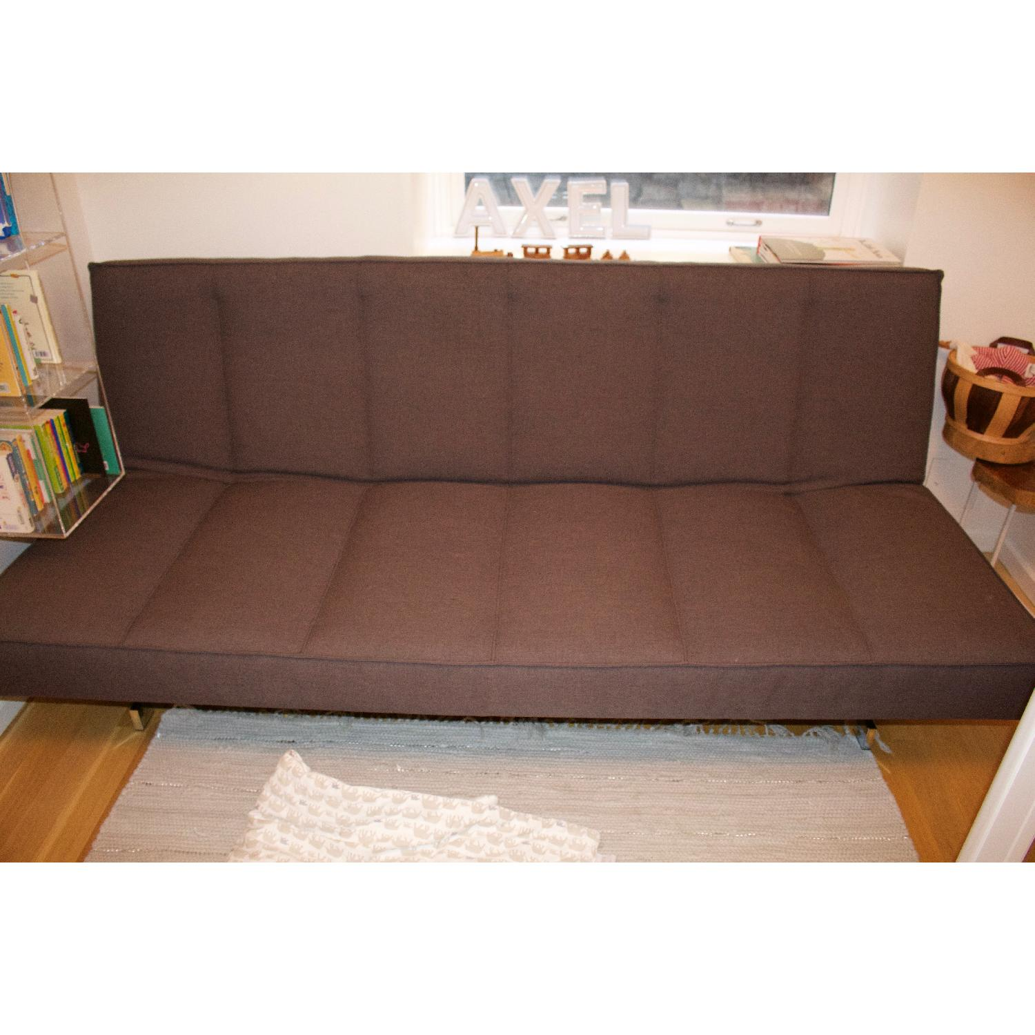 CB2 Flex Gravel Sleeper Sofa - image-19