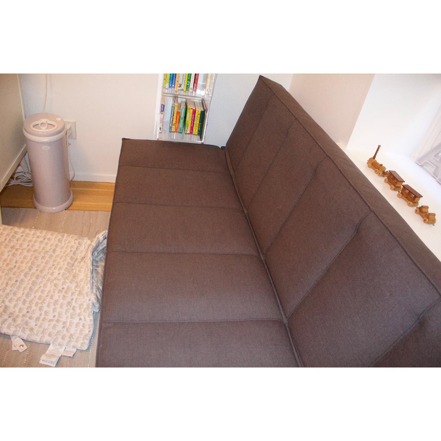CB2 Flex Gravel Sleeper Sofa - image-21