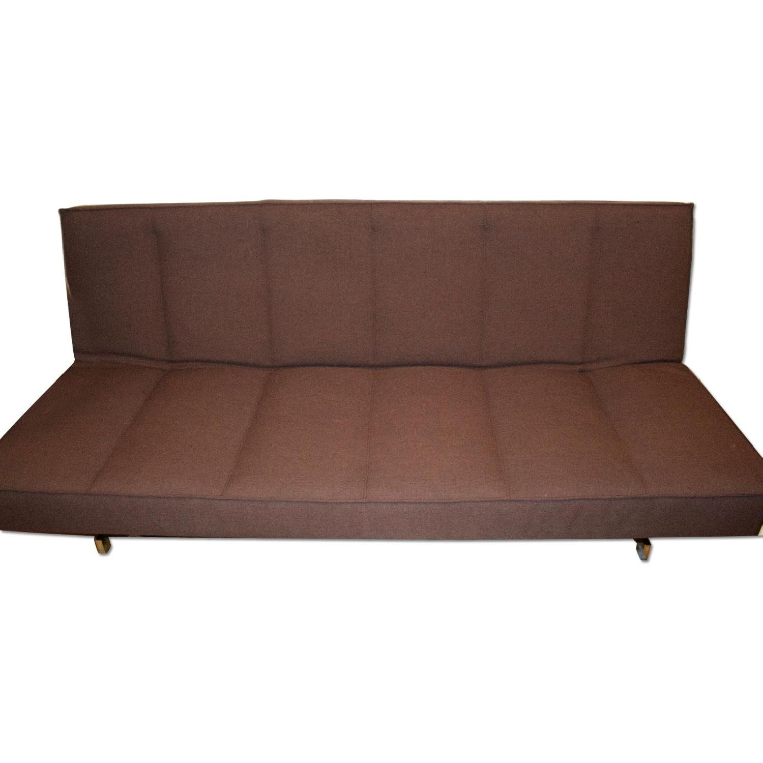 CB2 Flex Gravel Sleeper Sofa - image-0