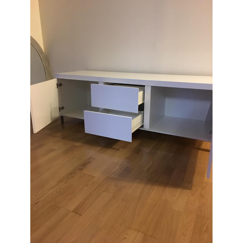 Modani White Lacquer Sideboard - image-4