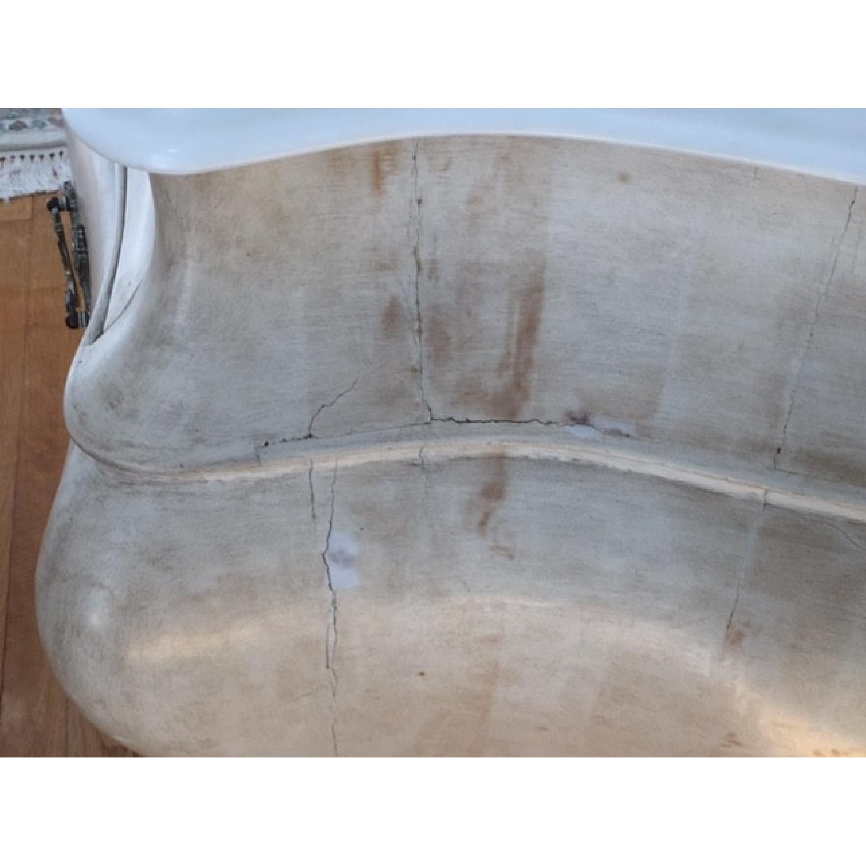 Louis XV Reproductions Dressers w/ Carrara Marble Tops - image-4