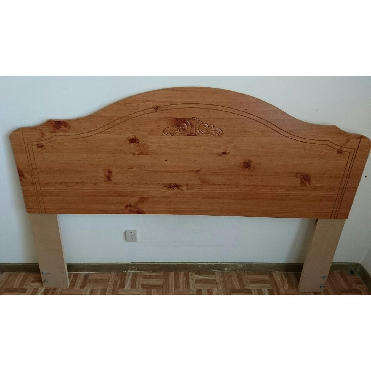 Brown Queen Headboard - image-1