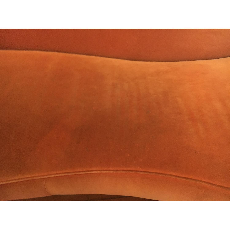 Vintage Reupholstered Velvet Chaise - image-6