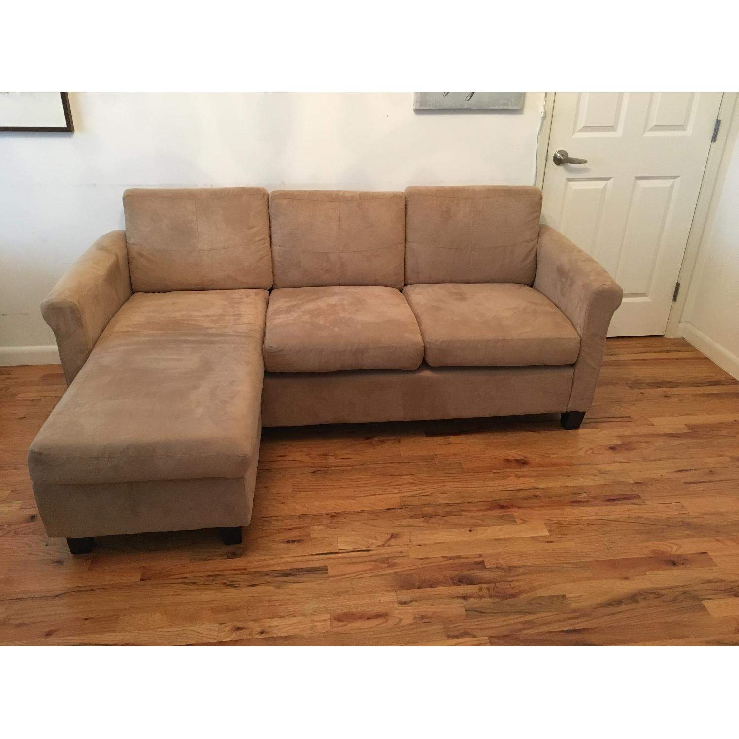 Beige Sectional Sofa - image-1
