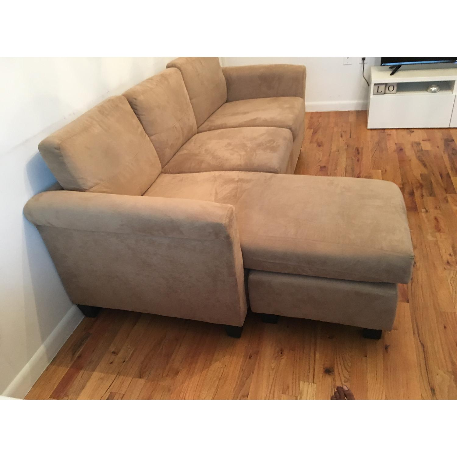 Beige Sectional Sofa - image-2