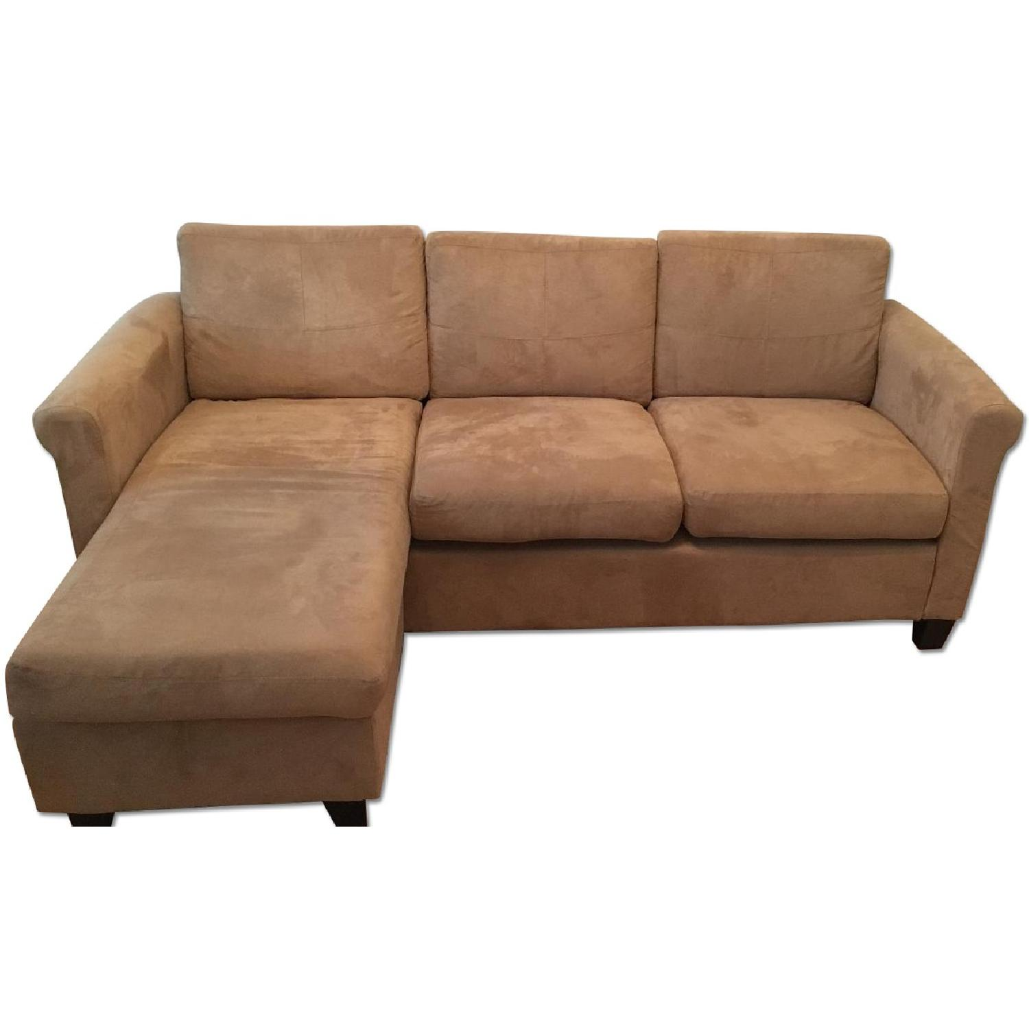 Beige Sectional Sofa - image-0