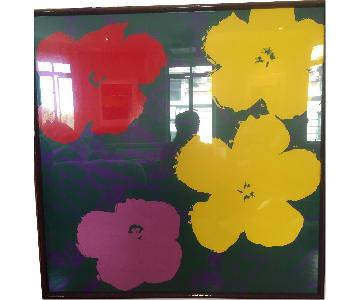 Warhol Flowers - Flowers After Andy