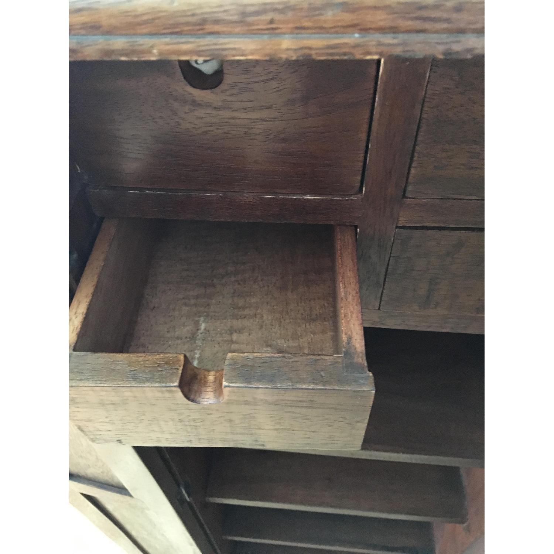 Vintage Wood Cabinet - image-3