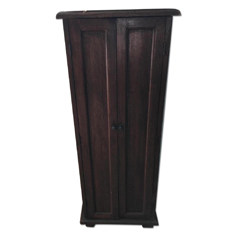 Vintage Wood Cabinet - image-0