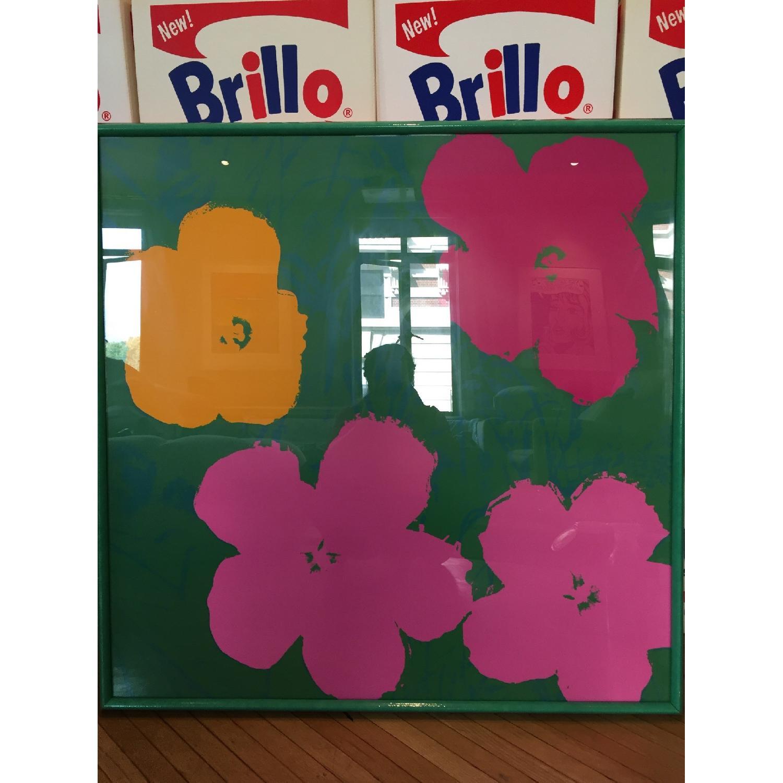 Warhol Inspired Flowers - image-1