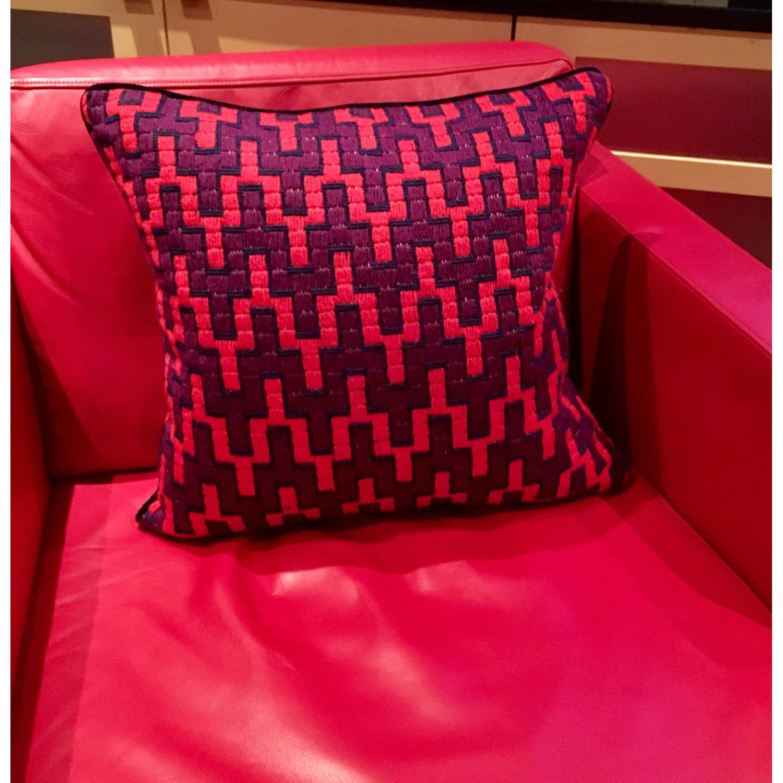 Jonathan Adler Needlepoint Pillow - image-1