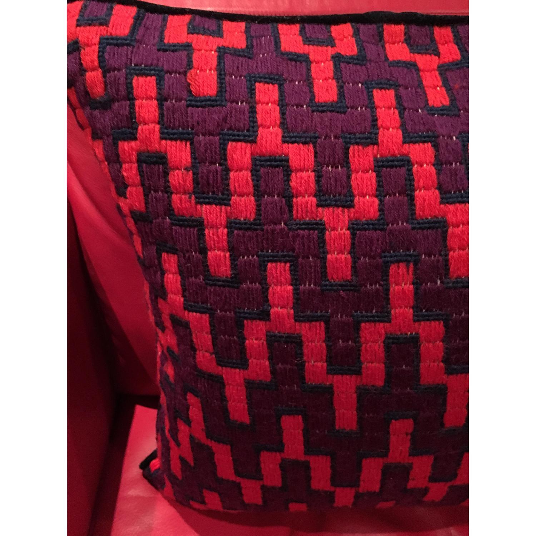 Jonathan Adler Needlepoint Pillow - image-3