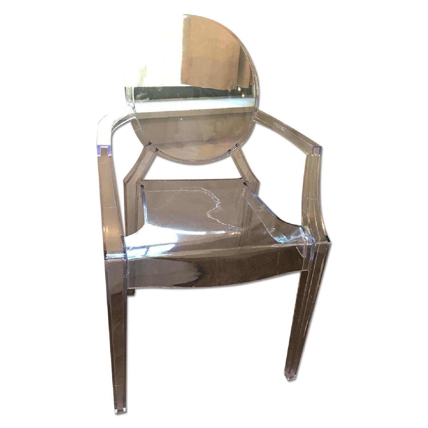 Poly and Bark Ghost Chair - image-0
