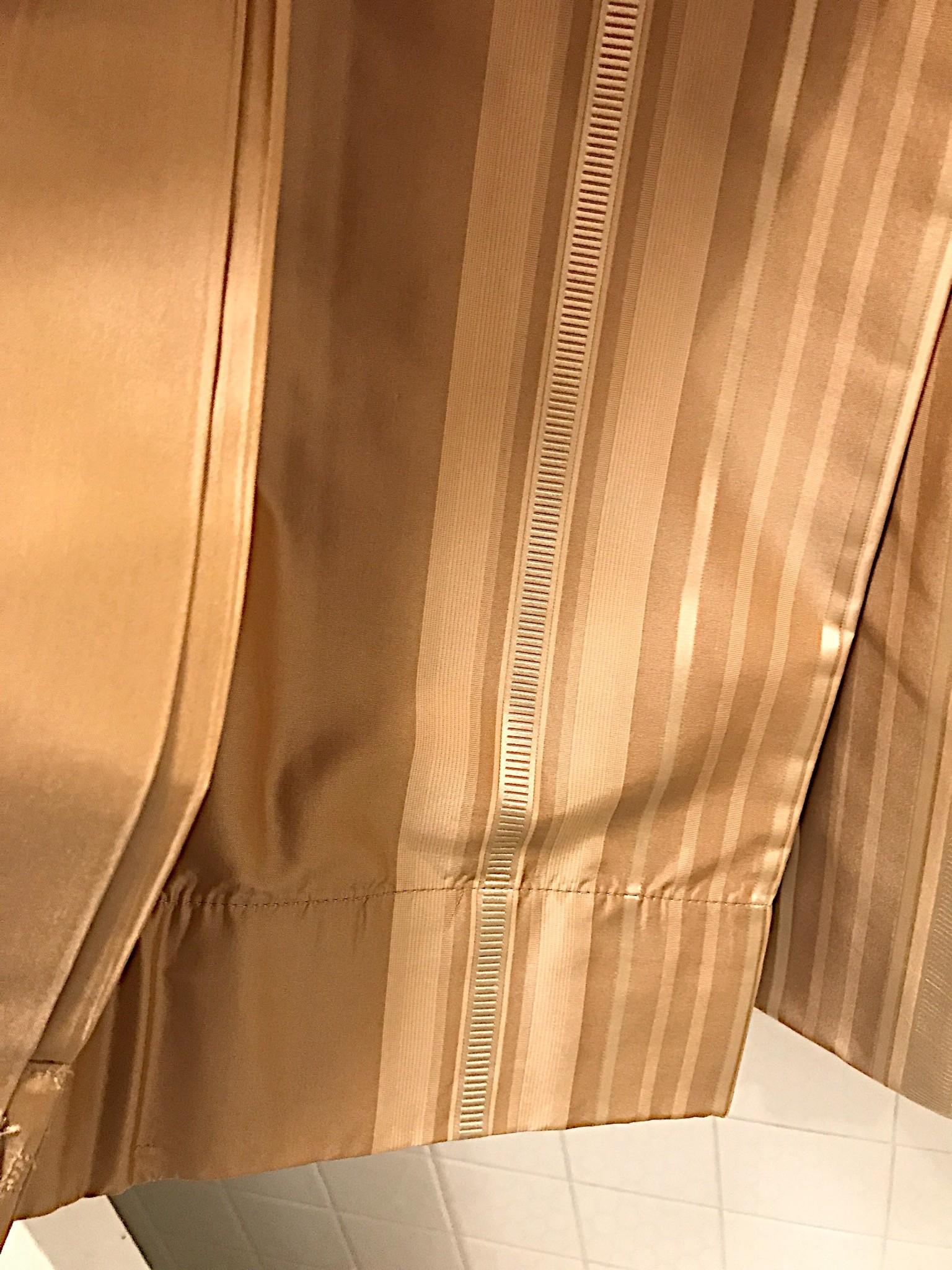 Restoration Hardware Silk Drapes