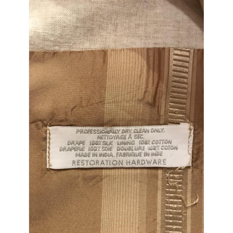 Restoration Hardware Silk Drapes-4