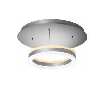 Orren Ellis Modern LED Dimmable Semi Flush Mount