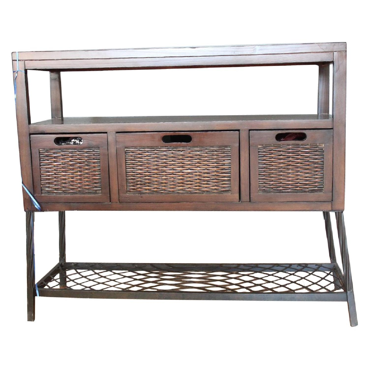 Pier 1 Side Table/Buffet Table